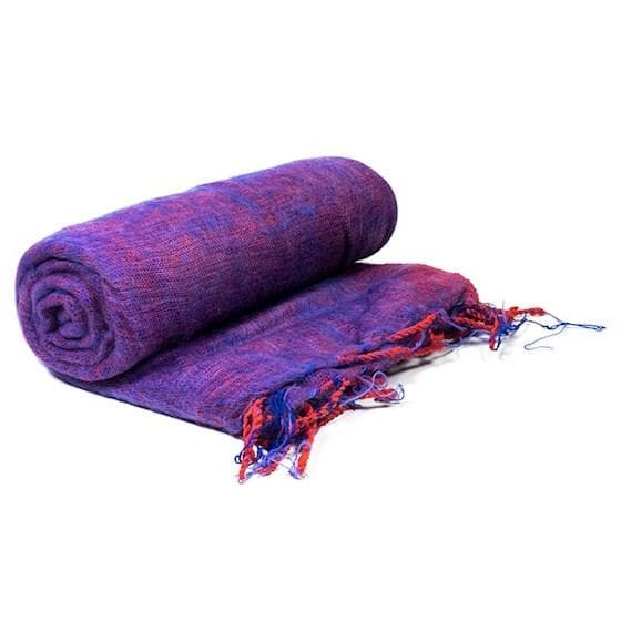 Meditation/Yoga Blanket Violet - Health Matters