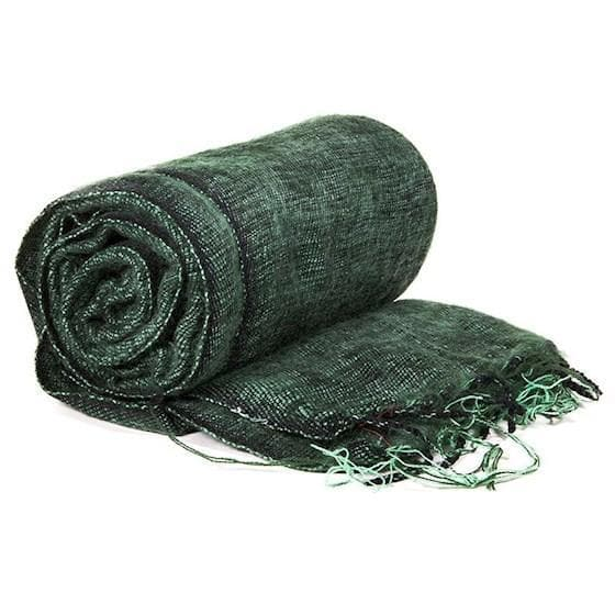 Meditation Blanket Dark Green - Health Matters Shop
