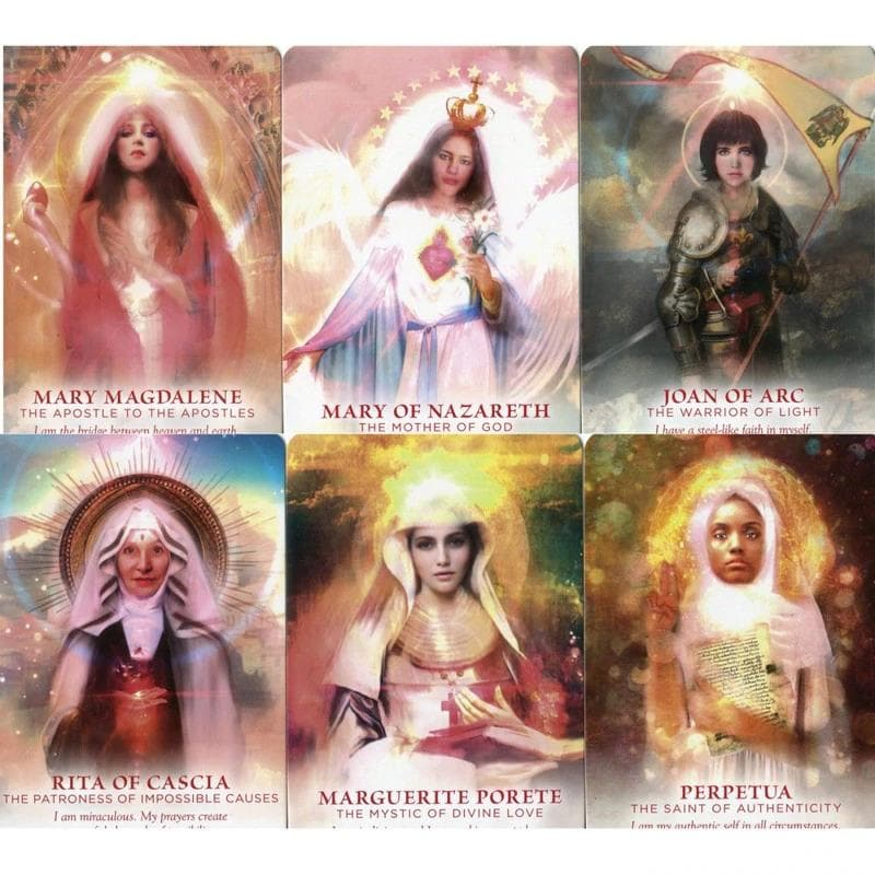 The Divine Feminine Oracle - Meggan Watterson - Health Matters Shop
