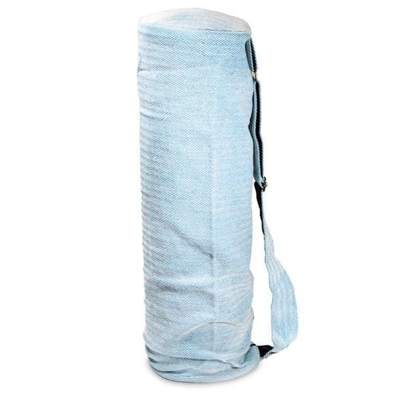 Cotton Yoga Bag Turquoise - Health Matters