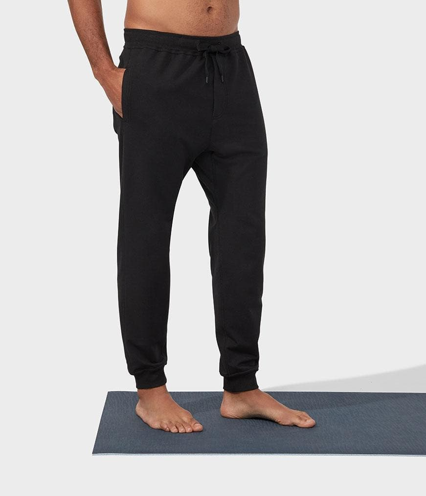 Manduka Recharge Jogger Black - Health Matters Shop