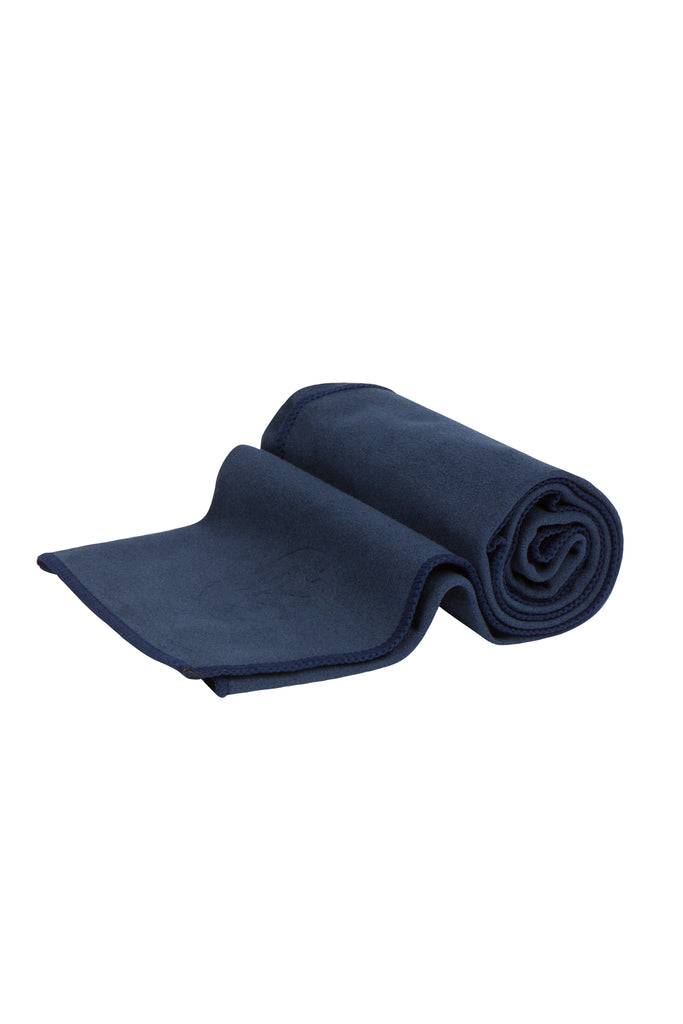 Manduka eQua Hand Towel Midnight - Health Matters