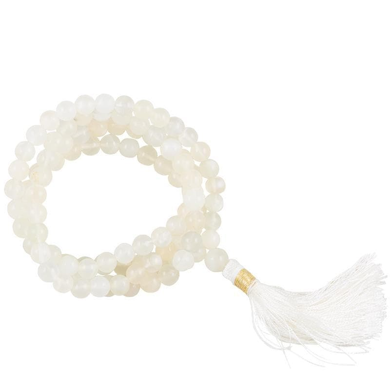 Moonstone AA Mala 108 Beads - Health Matters Shop