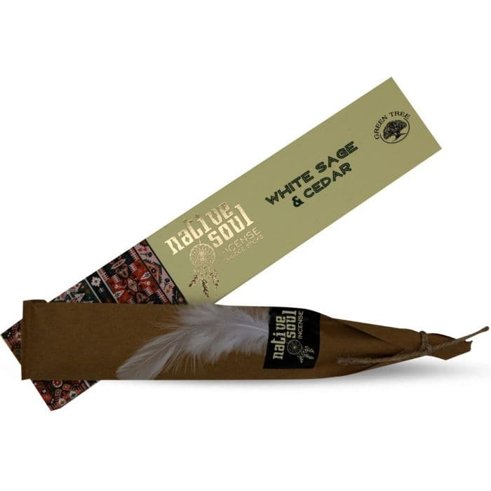 White Sage & Cedar Native Soul Incense - Health Matters Shop