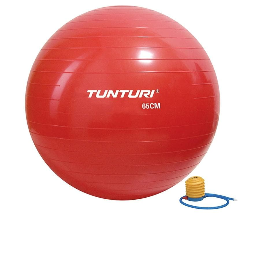 Tunturi Gymball 65 cm Red - Health Matters Shop