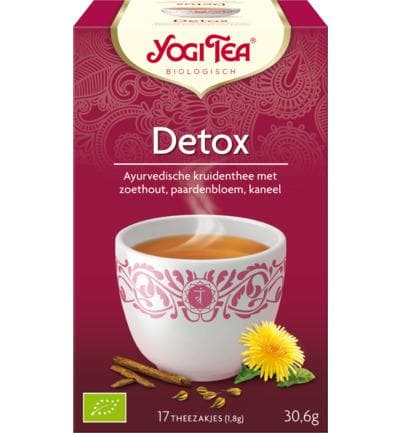Yogi Tea Detox - Health Matters Shop