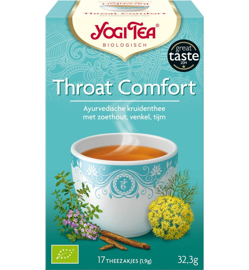 Yogi Tea Throat Comfort - Health Matters Shop