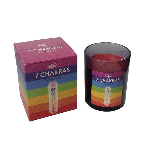 7 Chakra's Scented Candle - Health Matters Shop