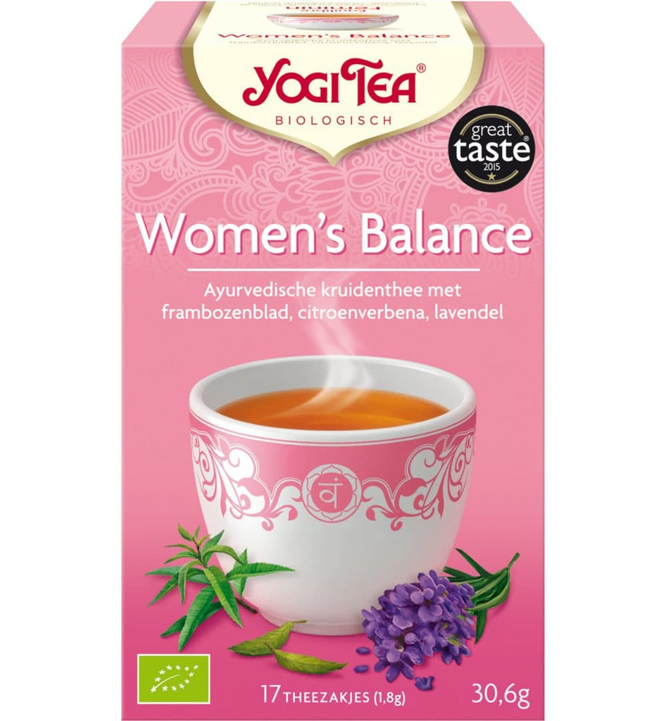 Yogi Tea Women's Balance - Health Matters Shop