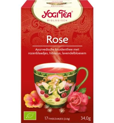 Yogi Tea Rose - Health Matters Shop