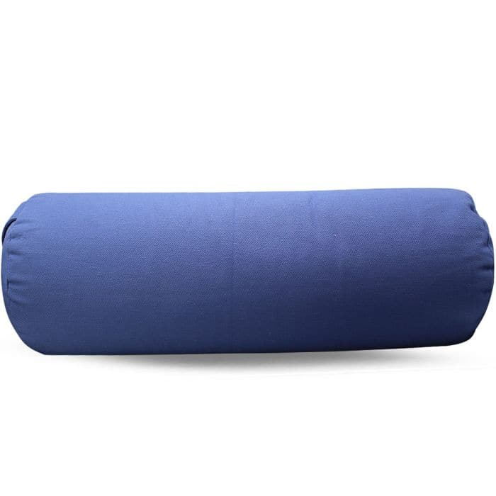 Yoga Bolster Lotus Light Blue - Health Matters Shop