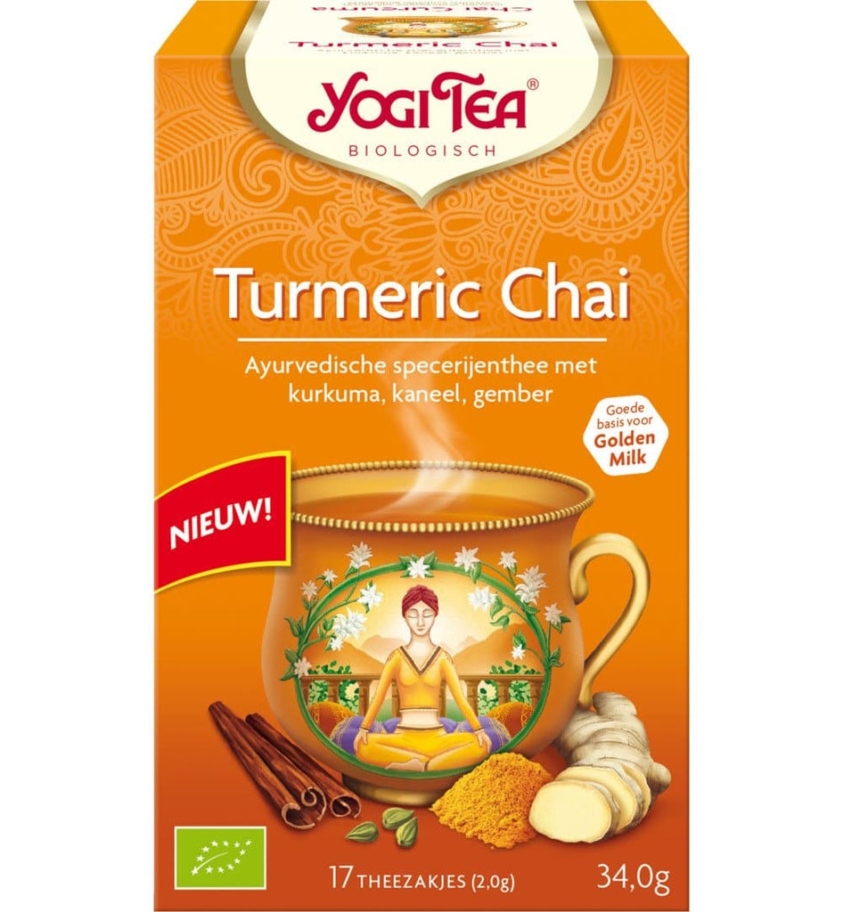 Yogi Tea Turmeric Chai - Health Matters Shop