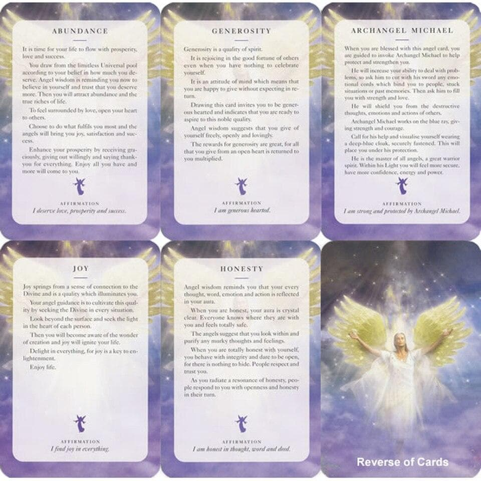 Angels of Light Cards - Diana Cooper - Health Matters