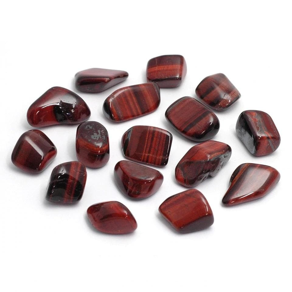 Red Tigers Eye (South Africa) Tumblestones 15/20gr - Health Matters