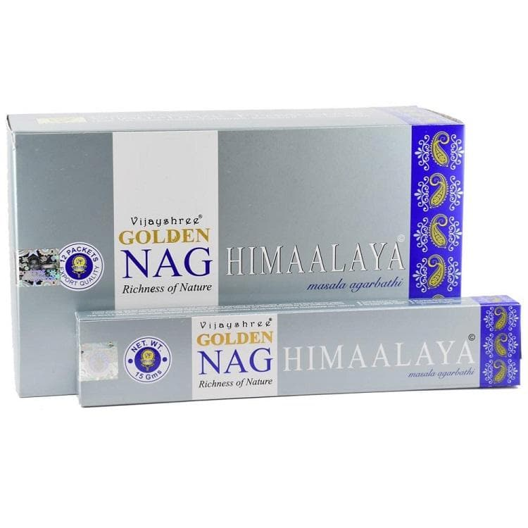 Himaalaya Golden Nag Incense - Health Matters Shop