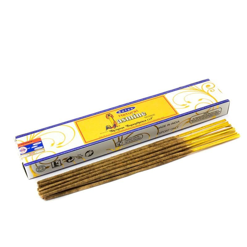 Natural Jasmine Incense Satya - Health Matters