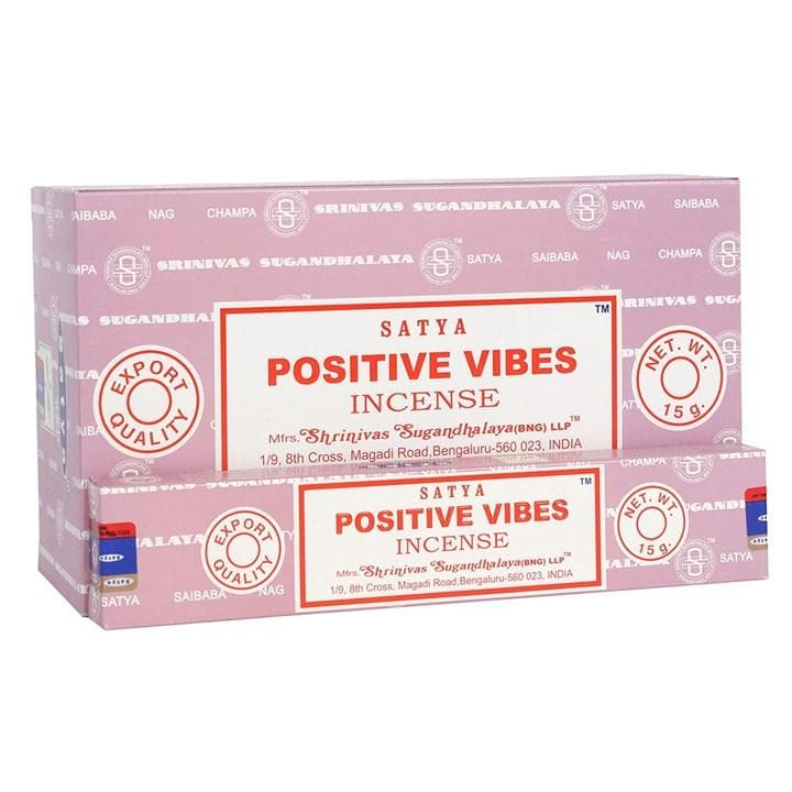 Positive Vibes Satya Incense - Health Matters