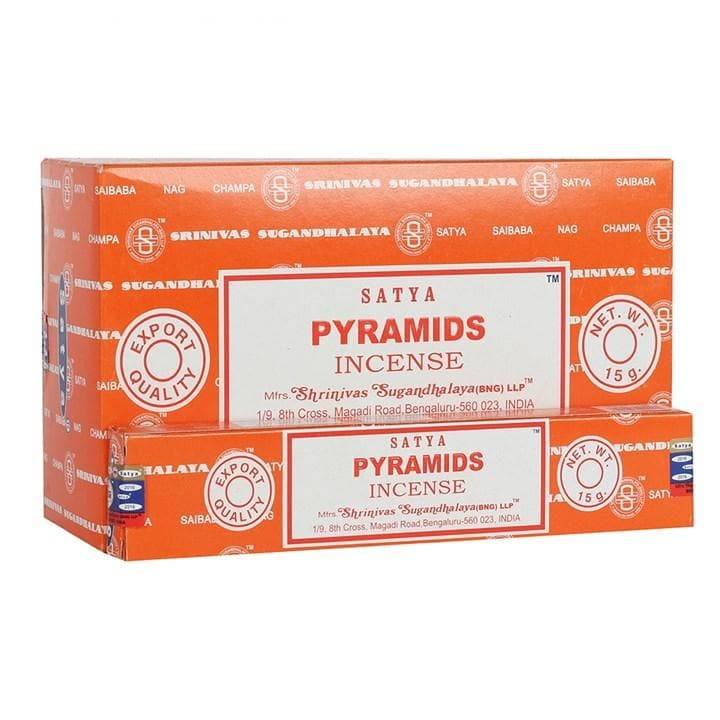 Pyramids Satya Incense - Health Matters Shop