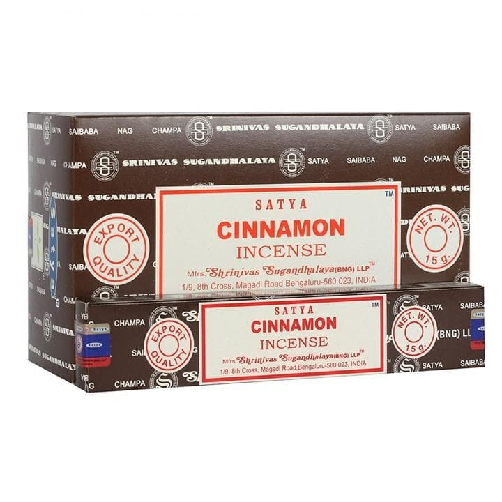 Cinnamon Incense Sticks by Satya - Health Matters Shop