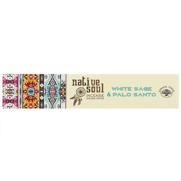 White Sage & Palo Santo Incense Native Soul - Health Matters