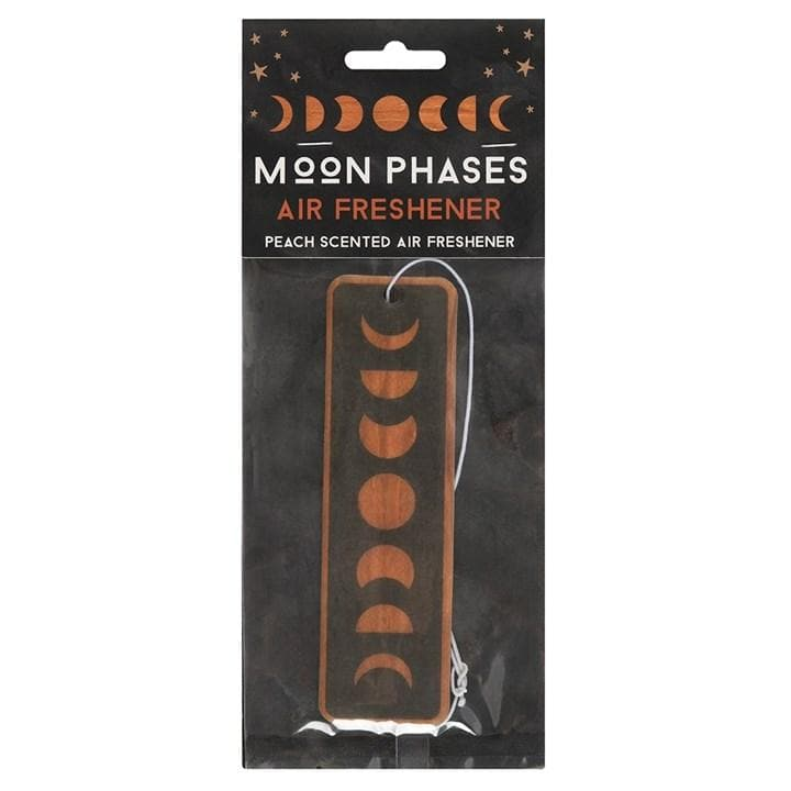 Moon Phase Peach Scented Air Freshner - Health Matters Shop