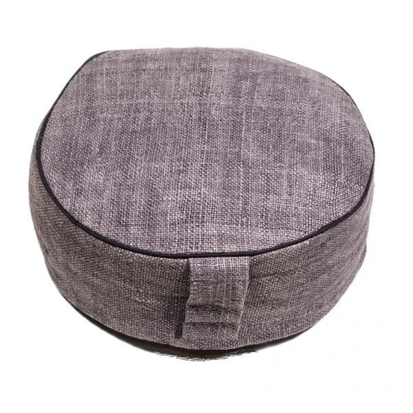 Hemp Meditation Cushion Anthracite - Health Matters