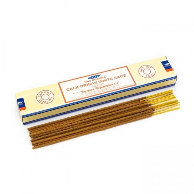 Californian White Sage Satya Incense - Health Matters
