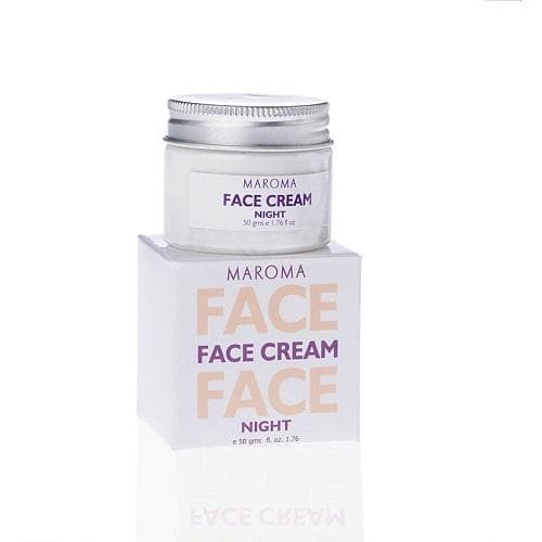 Maroma Face Cream Night 50 gr - Health Matters