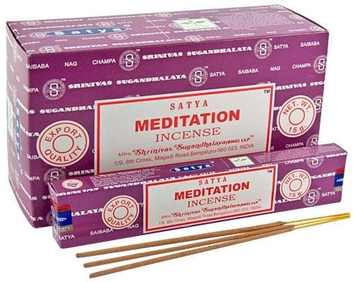 Meditation Satya Incense - Health Matters