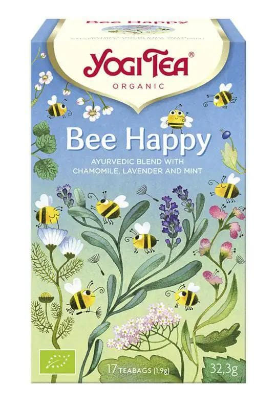 Bee Happy Yogi Tea Bio - Health Matters Shop