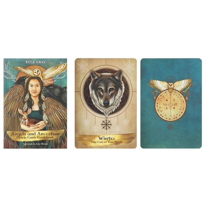 Angels and Ancestors Oracle Cards - Health Matters Shop