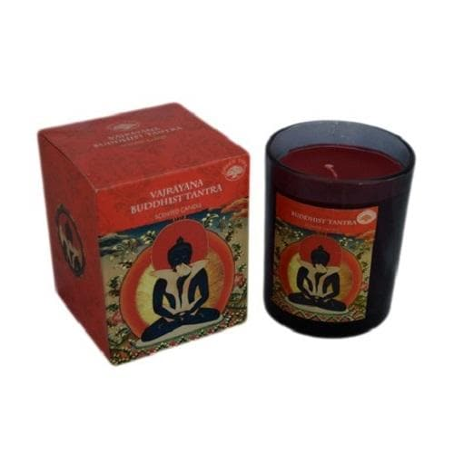 Buddhist Tantra Scented Candle - Health Matters Shop