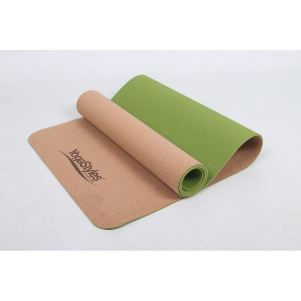 Yogastyles Cork TPE Green - Health Matters
