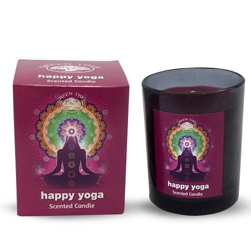 Happy Yoga Scented Candle - Health Matters Shop