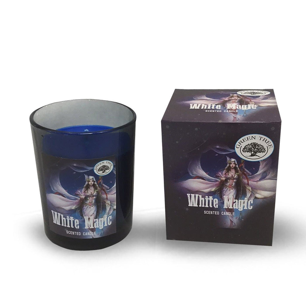 White Magic Scented Candle - Health Matters