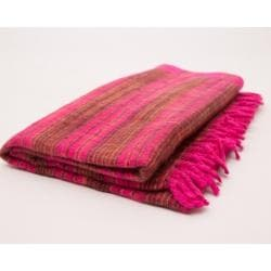 Meditation Blanket Pink - Yellow - Health Matters Shop