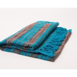 Meditation Blanket Turquoise 12 - Health Matters Shop