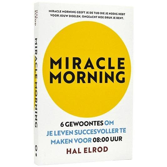 Miracle Morning - Hal Elrod - Health Matters Shop