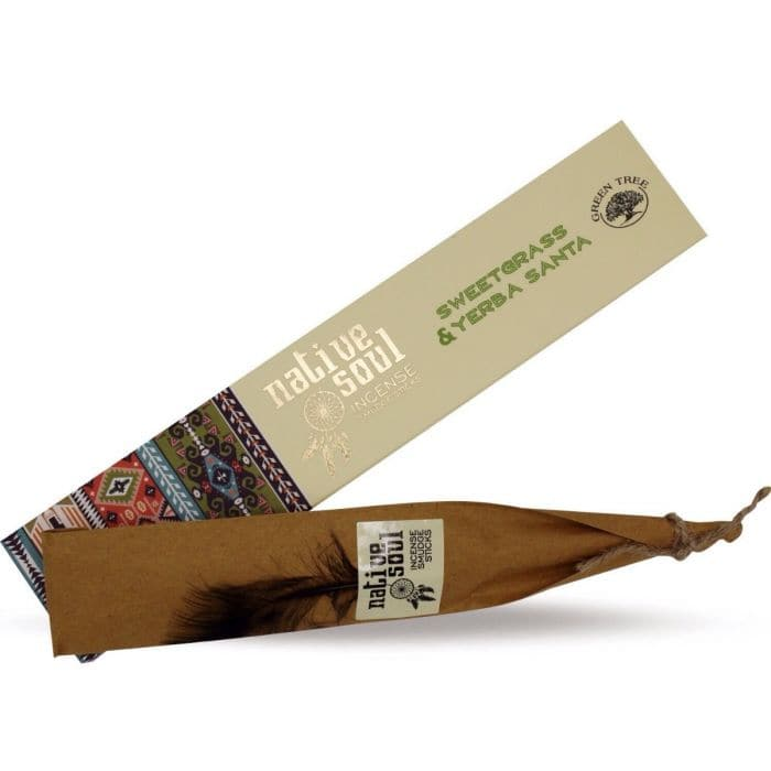 Sweetgrass & Yerba Santa Incense Native Soul - Health Matters Shop