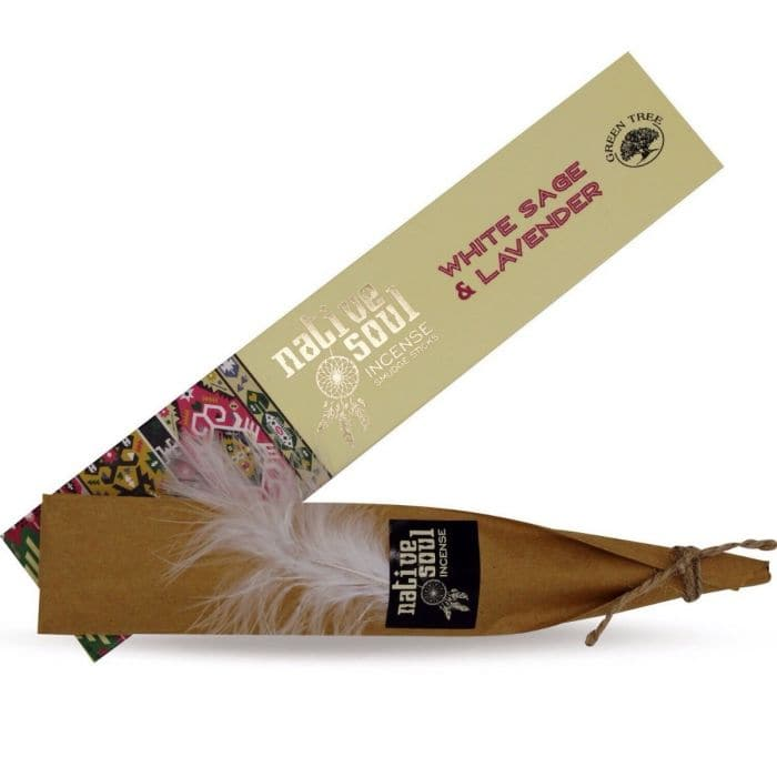 White Sage & Lavender Native Soul Incense - Health Matters