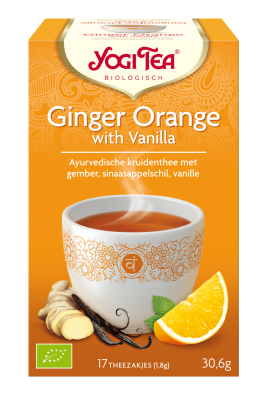Yogi Tea Ginger Orange - Health Matters Shop