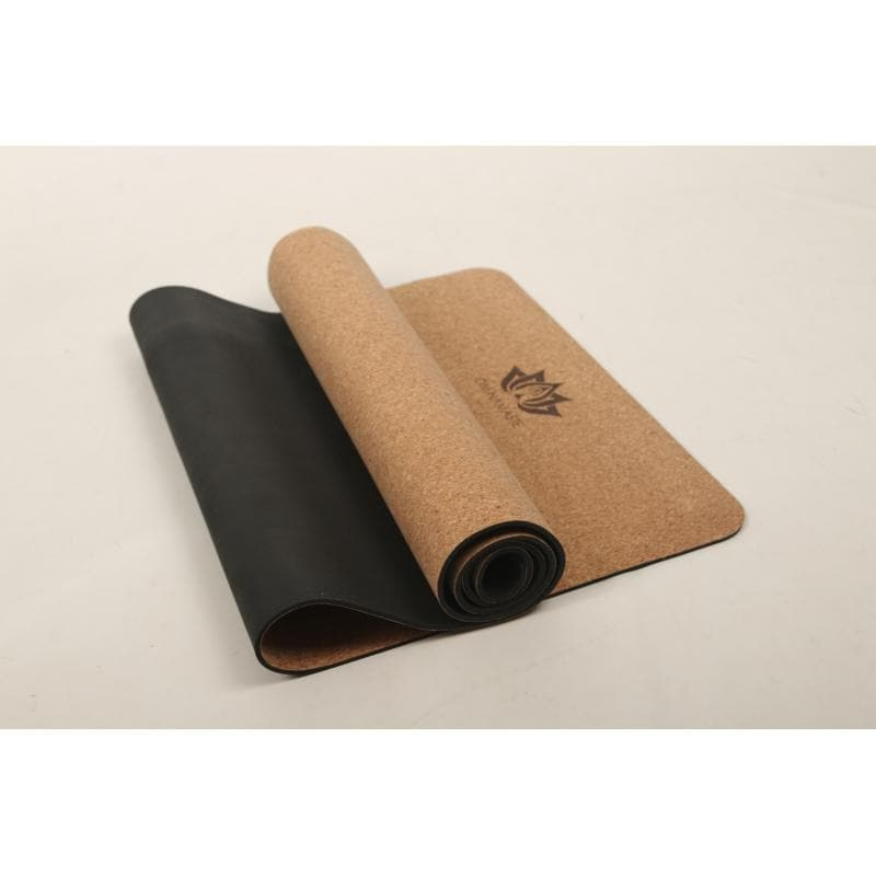 Om Namaste Yoga Mat Cork - Health Matters Shop
