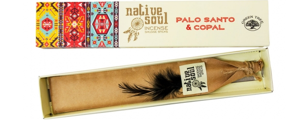 Palo Santo & Copal Incense Native Soul - Health Matters