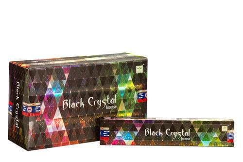 Black Crystal Satya Incense - Health Matters