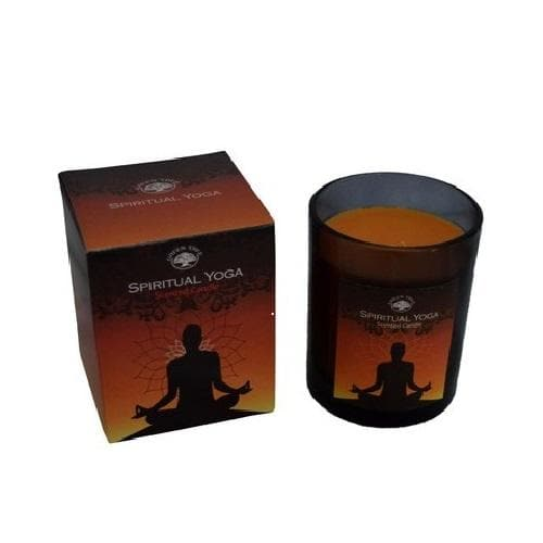 Spiritual Yoga Scented Candle - Health Matters Shop