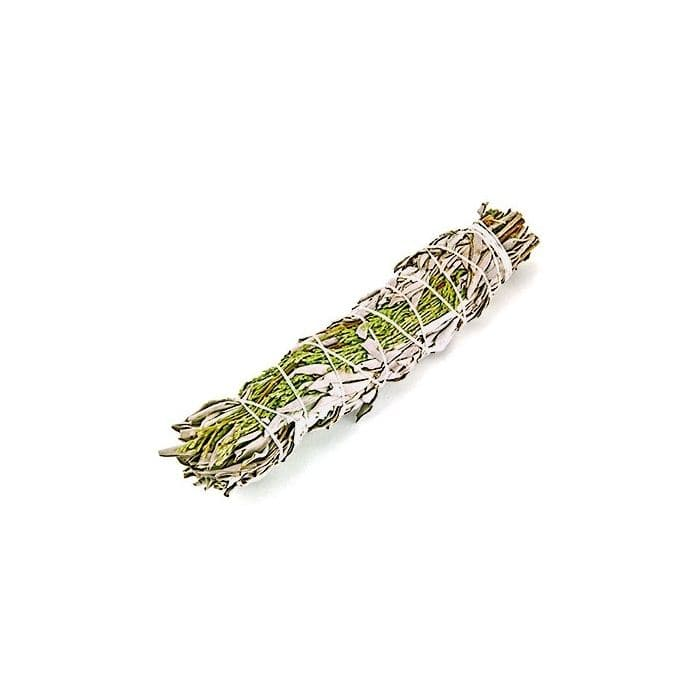 White Sage & Cedar Smudge 22cm - Health Matters Shop