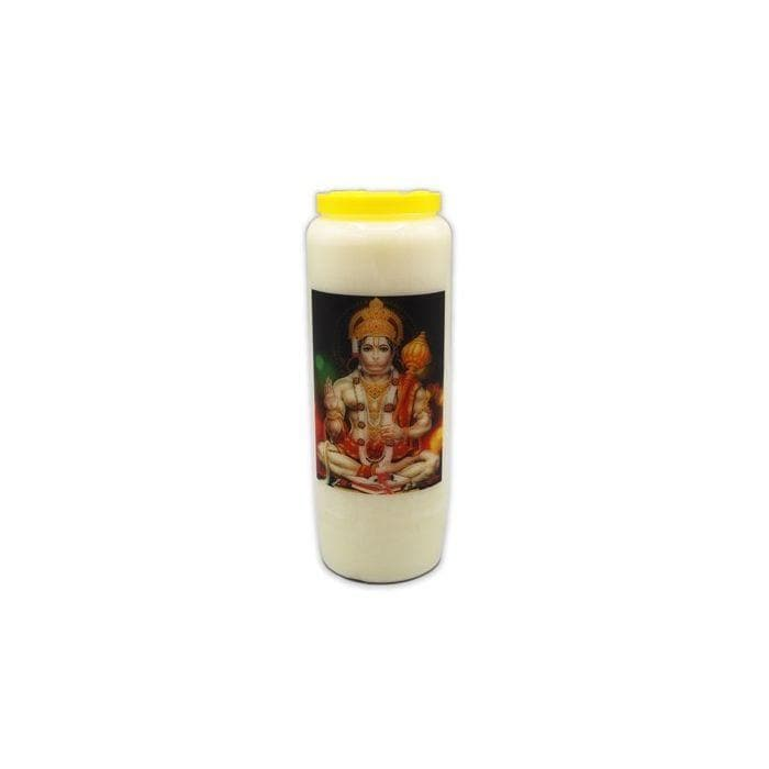Jai Hanuman Novena Candle with Mantra - Health Matters