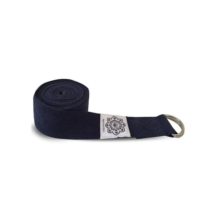 Navy Yoga Belt/Strap - Health Matters