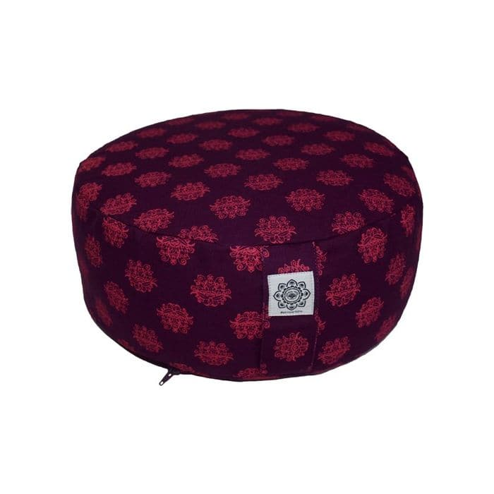 Meditation Cushion Purple & Pink - Health Matters Shop