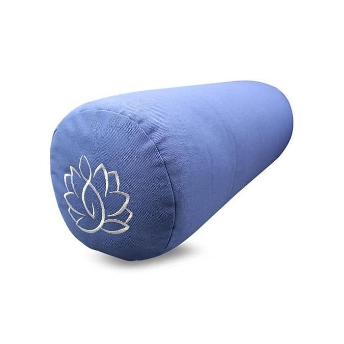 Yoga Bolster Lotus Light Blue - Health Matters